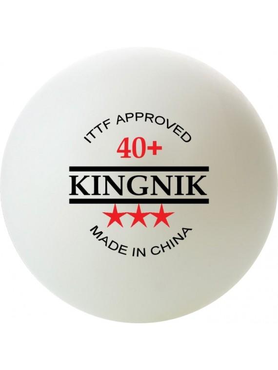 ลูกปิงปอง Kingnik 40+ 3 ดาว 6 ลูก