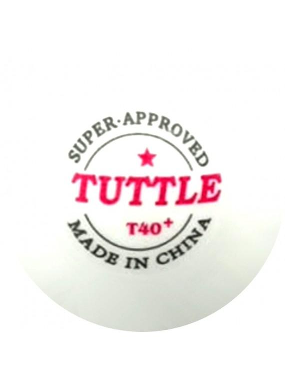 ลูกปิงปอง TUTTLE 1 ดาว PLASTIC 40+ (จำนวน 120 ลูก)