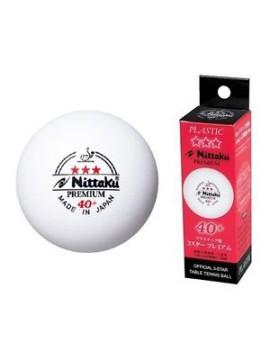 ลูกปิงปอง NITTAKU 40+ 3 ดาว ITTF Approve
