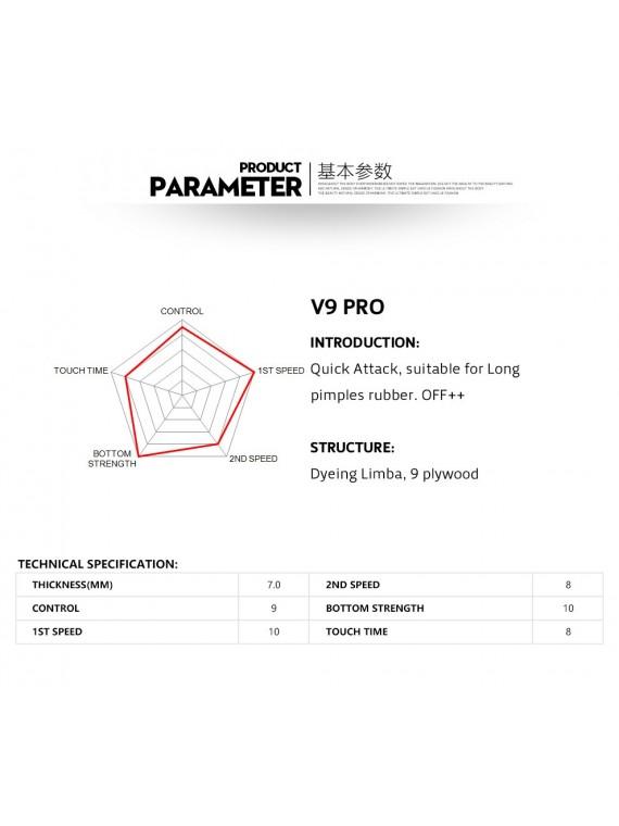 ไม้ปิงปอง SANWEI รุ่น V9 Pro