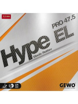 ยางปิงปอง Gewo รุ่น Hype EL Pro 47.5