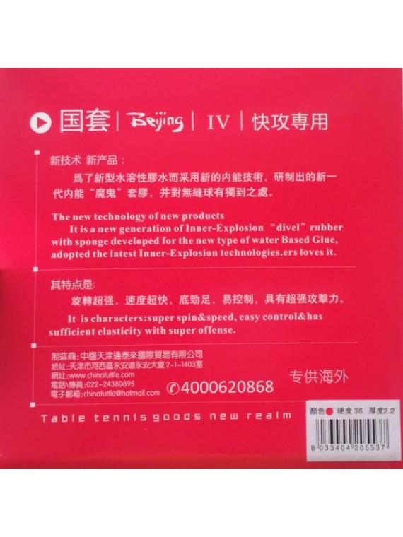ไม้ปิงปองประกอบจัดชุด Sanwei HC-5 + ยางปิงปอง TUTTLE BEIJING 4