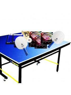 โต๊ะปิงปองจัดชุด BASIC SET MINI COMBO สำหรับครอบครัว